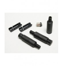 Mini-DIN 6-ti kolík, zdířka, kabelová, plastová