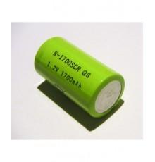 Akumulátor - baterie SC - 1.2V/1700mAh - NiCd | N-1700SCR