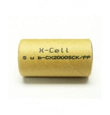 Akumulátor - baterie SC - 1.2V/2000mAh - NiCd | SC2000SCR
