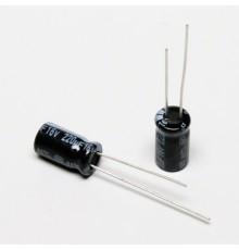 Elektrolytický kondenzátor, 220uF, 16V, 6.3*11mm