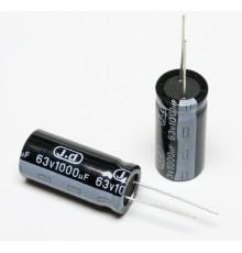 Elektrolytický kondenzátor, 1000uF, 63V, 16*36mm