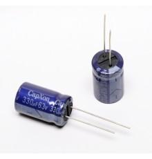 Elektrolytický kondenzátor, 330uF, 63V, 13*21.5mm