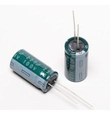 Elektrolytický kondenzátor, 220uF, 100V, 13*25mm