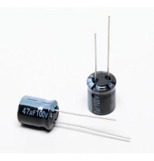 Elektrolytický kondenzátor, 47uF, 100V, 10*13mm