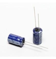 Elektrolytický kondenzátor, 47uF, 100V, 10*17mm