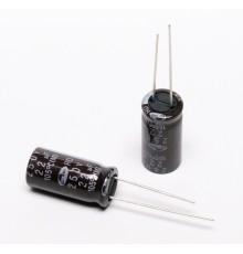 Elektrolytický kondenzátor, 22uF, 250V, 10*20mm