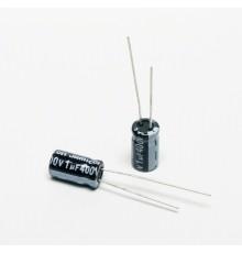 Elektrolytický kondenzátor, 1uF, 400V, 6.3*11mm