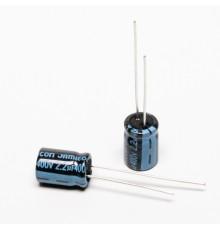 Elektrolytický kondenzátor, 2.2uF, 400V, 8*11mm