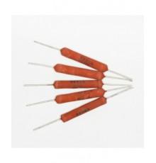 15R/10W - drátový rezistor, 10W, ±5%, tmelený, TR..