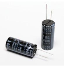 Elektrolytický kondenzátor, 1000uF, 100V, 18*41mm