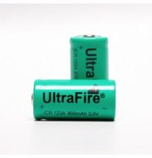 Akumulátor - baterie ICR123A, 3.0V/800mAh, LiFePO4