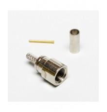 FME konektor, 3mm (RG-174), crimpovací
