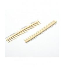 Jumperová lišta, 36 pinů, úhlová, RM 2.54mm
