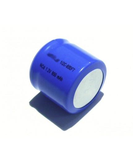 Akumulátor - baterie 1/2 C - 1.2V/850mAh - NiCd | AP1/2C-850