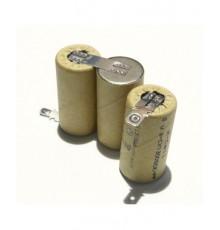 Složená baterie s vývody na konektor FAST-ON - velikost SC - 3.6V/1500mAh | SC1500SCK
