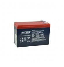 Olověná baterie trakční - pro elektromotory 12V, 7.2Ah - Motoma - 12V7.2TMF
