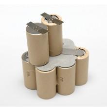 Makita baterie - náhradní akupack, velikost SC, NiCd, 12V/1500mAh - SC1500SCK