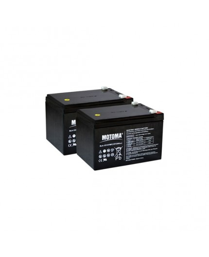 Olověná baterie trakční - pro elektrokola i dětská elektro vozítka 24V, 12Ah - Motoma - 12V12TMF