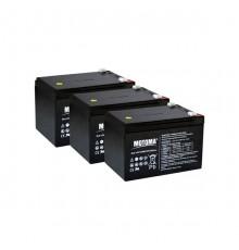 Olověná baterie trakční - pro elektrokola i dětská elektro vozítka 36V 12Ah - Motoma - 12V12TMF