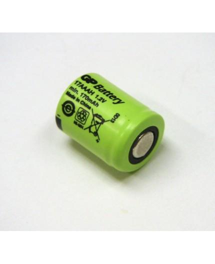 Akumulátor - baterie 1/3 AAA - 1.2V/170mAh - NiMh | GP17AAAH
