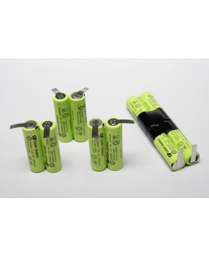 Electrolux (PMC900272153) náhradní baterie - sada akumulátorů, velikost AA, 12V/2000mAh - GP200AAH