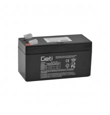 Olověná baterie - bezúdržbový akumulátor 12V, 1.2Ah - Geti- SLA12V1.2