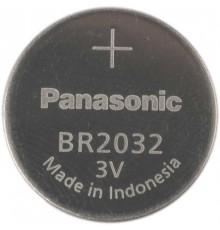 Baterie Panasonic CR2032, 3V, knoflíková, lithiová, 1ks volně