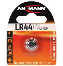 Baterie LR44 Ansmann - A76 - AG13 - knoflíková - alkalická - 1ks blistr