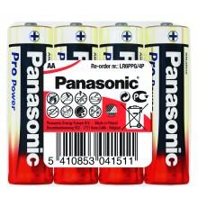 Baterie Panasonic Pro Power AA, R6, LR6, tužková, alkalická, fólie