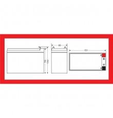 Olověná baterie - bezúdržbový akumulátor 12V - 9.0Ah - Motoma - MS12V9 | RBC17