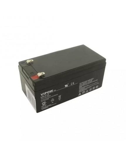 Olověná baterie - bezúdržbový akumulátor 12V, 3.3Ah - Vipow - LP3.3-12