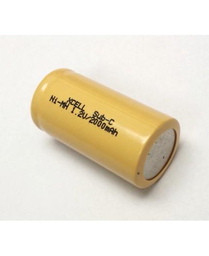 Akumulátor - baterie SC - 1.2V/2000mAh - NiMh | SC2000SCR