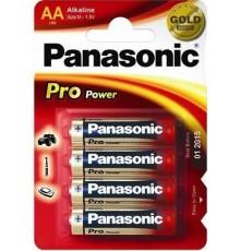 Baterie Panasonic Pro Power AA - R6 - LR6 - tužková - alkalická - cena za 4ks v blistru