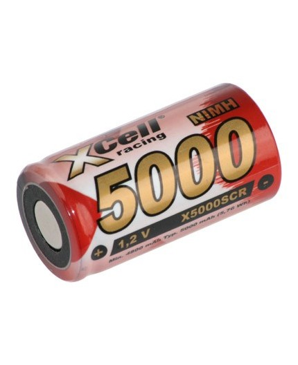 Akumulátor - baterie SC - 1.2V/5000mAh - NiMh | X5000SCR