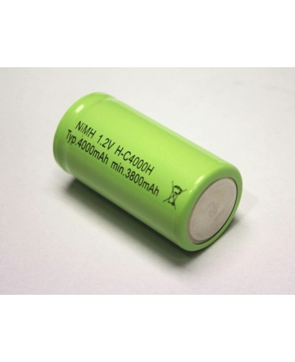 Akumulátor - baterie C - 1.2V/4000mAh - NiMh - HT | H-C4000HT