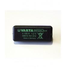 Akumulátor - baterie knoflíková do DPS - 1.2V/150mAh - NiMh - Mempac S-H - 55615-701-012 - 1N150H