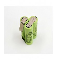 Složená baterie s pájecími vývody - velikost AA - 3.6V/2000mAh | GP200AAH