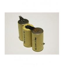 Složená baterie s vývody na konektor FAST-ON - velikost SC - 3.6V/1500mAh - X1500SCR/PP