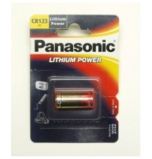 Baterie Panasonic CR123A - Lithium Power - 3V - foto - lithiová - 1ks blistr
