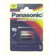 Baterie Panasonic CR2 - 3V/850mA - foto - lithiová - 1ks blistr