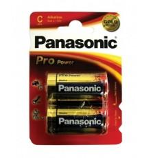 Baterie Panasonic Pro Power C - R14 - LR14 - malé mono - alkalická - cena za 2ks v blistru