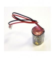 Baterie GP CR2 - foto - lithiová - včetně konektoru JST-EHR-2 - JST 01 pro průtokoměry