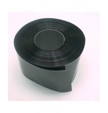 Smršťovací fólie 40.0 - 25.0mm - pásek - černá barva