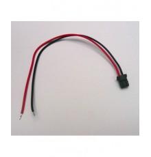 Konektor Mitsumi s vodičem M63M83-2P - 14cm - černý