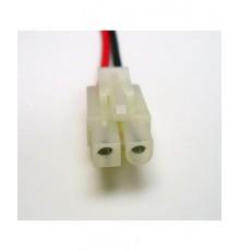 TAMIYA konektor / zásuvka s vodičem AWG20 - pár