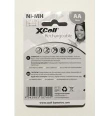 Baterie AA (R6) nabíjecí XCell Mignon 2700mAh X2700AAB4 - R6 - LR6 - NiMh - cena za 4ks v blistru