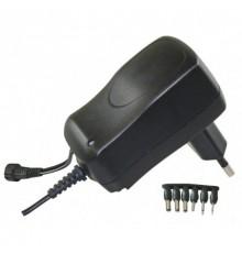 Adaptér - zdroj pulzní 3 - 12V, 600mA, MW3N06GS, 9 konektorů
