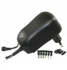 Adaptér - zdroj pulzní 3 - 12V - 1000mA - MW3K10GS - 6 konektorů