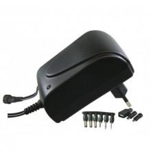 Adaptér - zdroj pulzní 3 - 12V - 1500mA - MW3R15GS - 9 konektorů