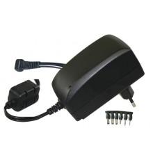 Adaptér - zdroj pulzní 3 - 12V - 2250mA - MW3IP25GS - 6 konektorů
